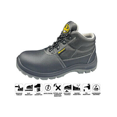 M-8348 Safetoe S3 SRC Safety Works Boots Composite Toe Metal Free Plate MRP £50