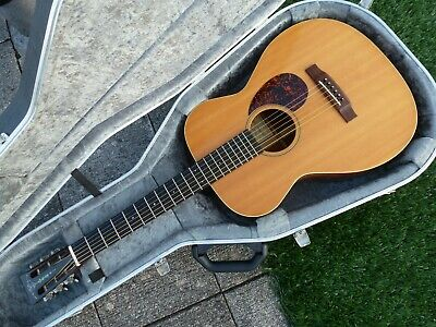 Manuel & Patterson Acoustic guitar 12 fret Martin strings 000 Old Time Special