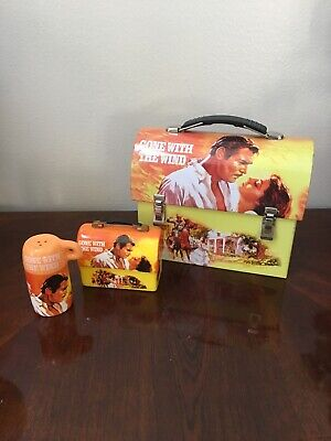 Gone With The Wind Dome Lunchbox VANDOR Collectable Salt And Peper Shakers