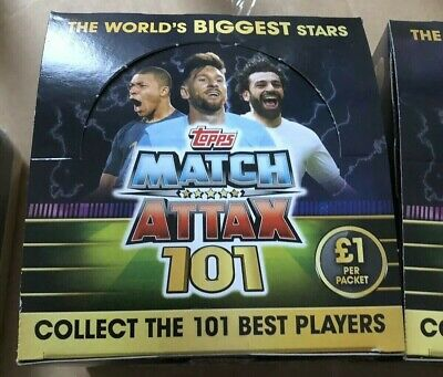 Match Attax 101 2019 Pick Your 100 Clubs / Legends Mint