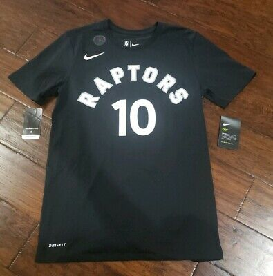 NIKE MENS NBA TORONTO RAPTORS DEMAR DEROZAN PLAYER T SHIRT Size Small 870810 014