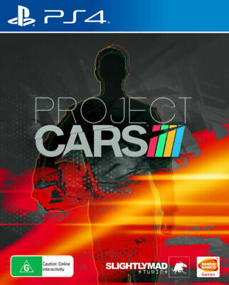 PROJECT CARS Playstation 4 PS4 GAME PAL