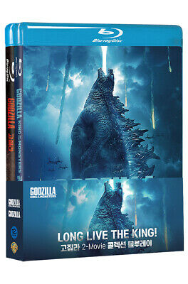 Godzilla & King Of The Monsters 2 Movie Collection - Blu-ray, DVD / Pick format