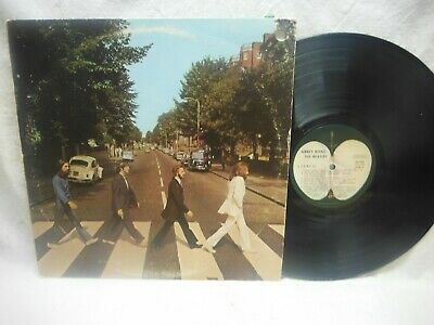 "The Beatles ""abbey Road"" Vinyl Lp Record-So-383"