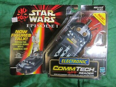 STAR WARS EPISODE 1 1998 Collection Commtech Electronic Reader Hasbro NEW