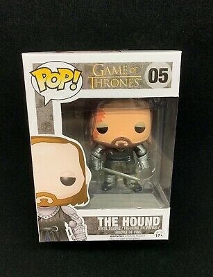 Funko Pop The Hound 05 SHELF WEAR Vinyl Figure Game Of Thrones New GOT