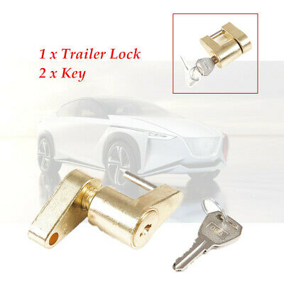 "1/4""Small Trailer Lock Tow Hitch Ball Bar Trailer Coupler Universal Durable"