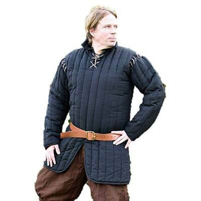 HALLOWEEN Gambeson Antique Thick Medieval Padded Collar Full  Sleeve Armor