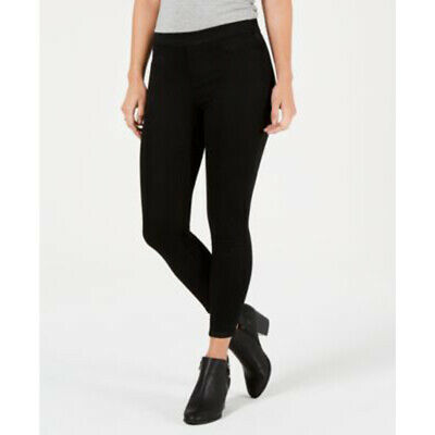 Style Co Womens Sz PS Petite Black Jeggings  Dark Wash Mid Rise NWT