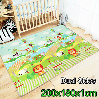 Baby Game Carpet  Play Mat Foam Puzzle Pad Child Crawling Gyms Blanket 200*180cm