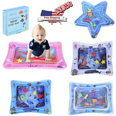 Inflatable Baby Water Mat Novelty Play for Kids Children Infants Fun Time US