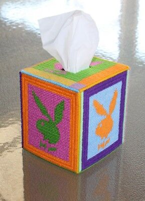 Tapestry PLAYBOY RABBIT Style Design Tissue Box Cover