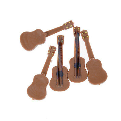 1:12/1:24 Dollhouse Miniature Music Instrument Classical Guitar Home Decor 3C