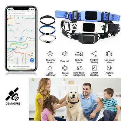 D35 Pet Collar Tracker GPS GSM GPRS Real time Locator for Dogs Cats Waterproof