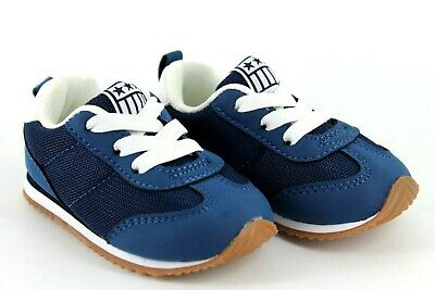 H&M Infant Kids Unisex Boys Girls UK 3.5 - 4.5 EU 20/21 Navy Blue Trainers Shoes