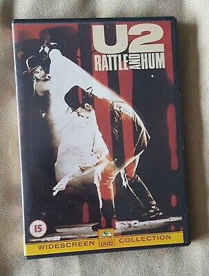 Music DVD - U2 Rattle and Hum - Region 2 1988