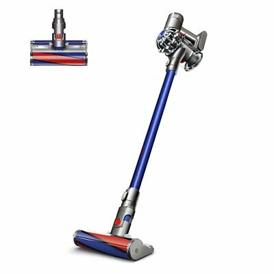 Dyson V6 Fluffy Cordless vacuum cleaner with attachments and box