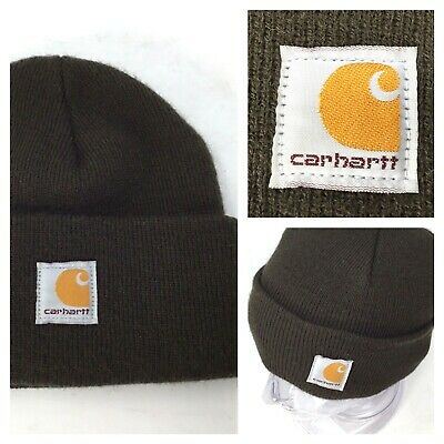 1a534cd0e CARHARTT TODDLER HAT Beanies Winter Hat - Dark Brown - Youth ...