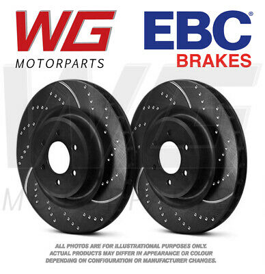 EBC GD Front Brake Discs 340mm for Skoda Octavia Mk3 5E 2.0 Turbo RS 230 15-