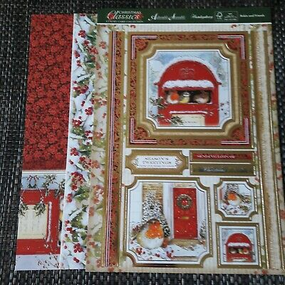 Hunkydory topper set - Robin and friends