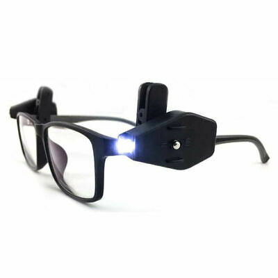 2PCS Book Reading Lights Night For Eyeglass And Tools Mini LED Clip On Universal