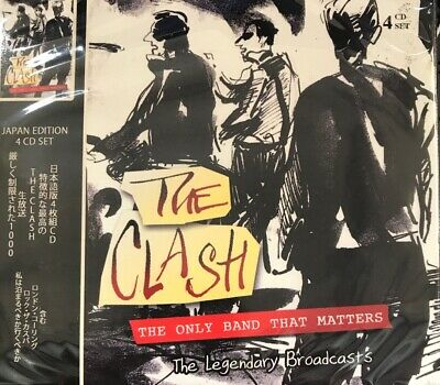 THE CLASH-THE ONLY BAND THAT MATTERS CD NEW Sealed