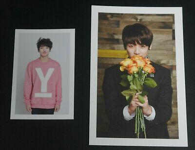 (Lot of 2) BTS Official Fanclub 2nd ARMY Membership Kit PhotoCard Jungkook