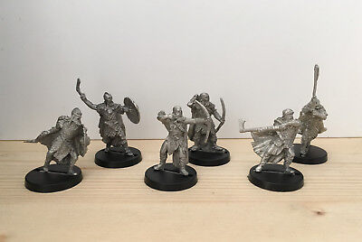 Games Workshop Citadel Lord of the Rings Lotr Dunlending Warriors Metal