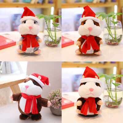 Cheeky Pet Plush Talking Electronic Repeats You Hamster Say Cute What Toy Gift