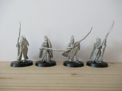 Games Workshop Citadel Lord of the Rings Lotr High Elf Warriors Spearmen Metal