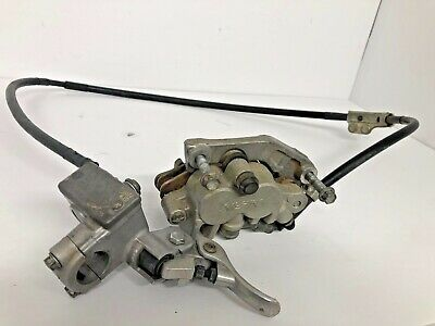 YZ450F Front brake assembly 2007 Yamaha caliper master WR450F lever pads