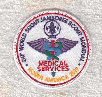 A987 24Th World Scout Jamboree 2019 - The Medical Services Patch