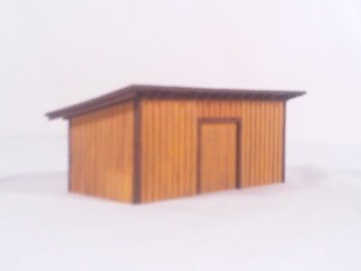 HO Scale Custom Made & Weathered Scratch Built Garage Barn Shed Stable