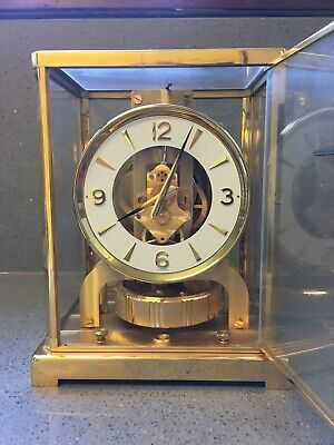 Jaeger-LeCoultreAtmos clock from early 1970s