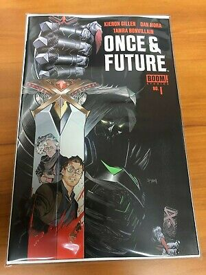 ONCE AND FUTURE #1 Boom 1st Print Hot New Comic Book Kieron Gillen