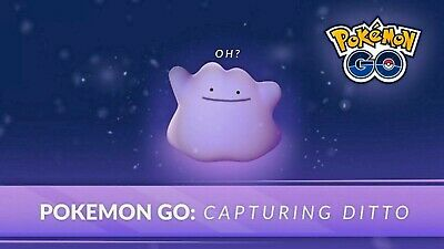 Pokemon Go Ditto Guaranteed Catching