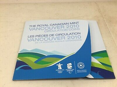Canada 17 Coin Set 2010 Vancouver Olympics No Red Coins (C)