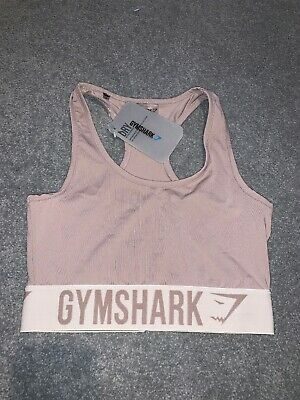 GYMSHARK. Fit Sports Bra. Taupe/Sand. Small. BNWT.