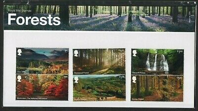 Gb 2019 Forests Stamp Presentation Pack