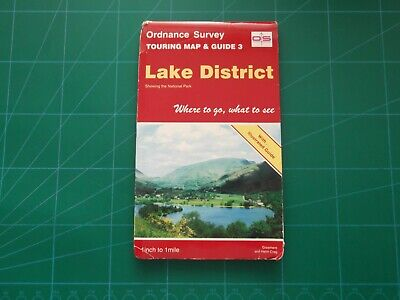 Ordnance Survey Tourist Map - Lake District (Touring Map and Guide 3)