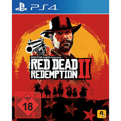 Red Dead Redemption 2 - PlayStation 4  NEU OVP