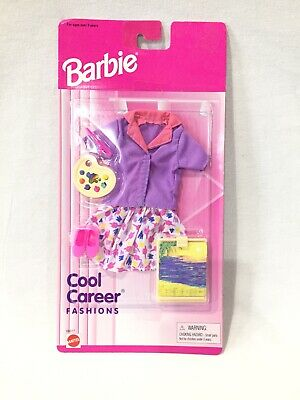 Pilot Gymnast and Doctor Fashion Pack #68592-91 Barbie Cool Career Fashions