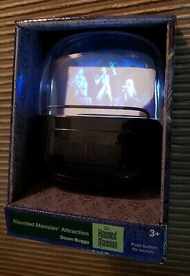 Disney Parks Haunted Mansion Hitchhiking Ghosts Talking Light up Sound Doombuggy