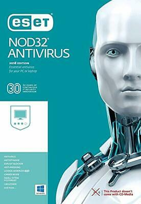 Eset NOD32 anti Virus 2019 Full Version, 1 Device 1 Year, Download/ESD