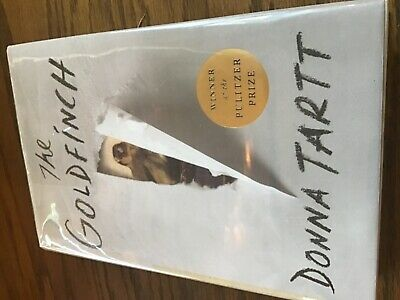 THE GOLDFINCH HC SIGNED DONNA TARTT Like NEW FIRST EDITION 18TH PRINT HARDCOVER