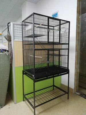 Bird Cage Breeding Pigeon Cage Parrot Cage For Budgie Aviary Canary Plastic Tray