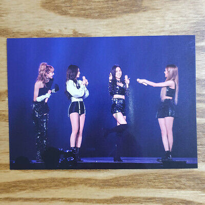 BlackPink Official Group Postcard 2018 Tour [IN YOUR AREA] Seoul DVD Kpop