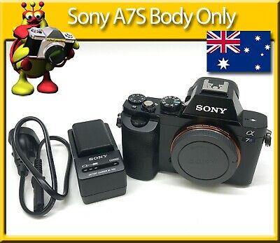 Sony A7S Body Only Low Shutter Count