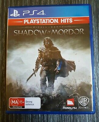 Middle Earth: Shadow of Mordor - PS4 - Brand New - Australian PAL