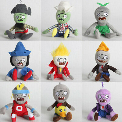 Plants vs Zombies 2 PVZ Figures Plush Toy Stuffed Hanging Dolls Gifts 10-18cm